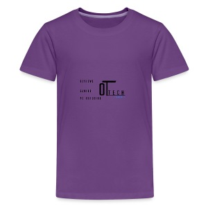back of tee shirt - Kids' Premium T-Shirt