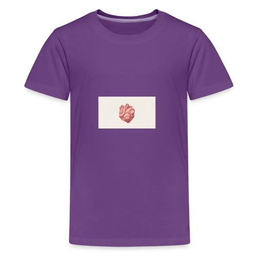 digital art heart art background 103910 1920x1080 - Kids' Premium T-Shirt