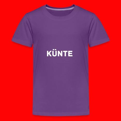 künte side - Kids' Premium T-Shirt