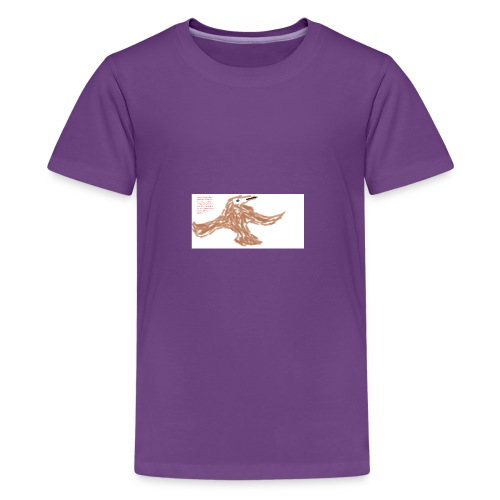 Soaring thru Prayer - Kids' Premium T-Shirt
