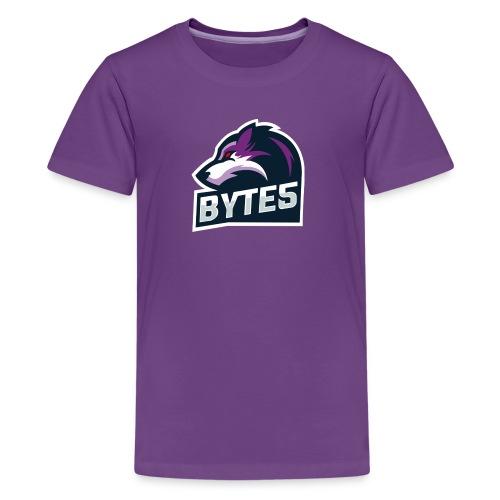 BYTE5 (Large Logo) - Kids' Premium T-Shirt