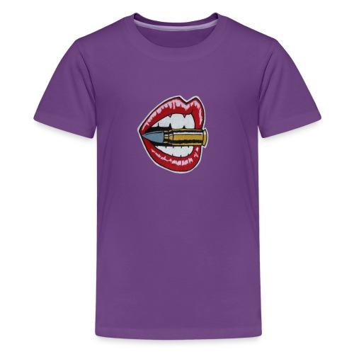 Bullet Lips - Kids' Premium T-Shirt