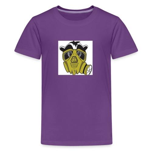 gasmask panda - Kids' Premium T-Shirt