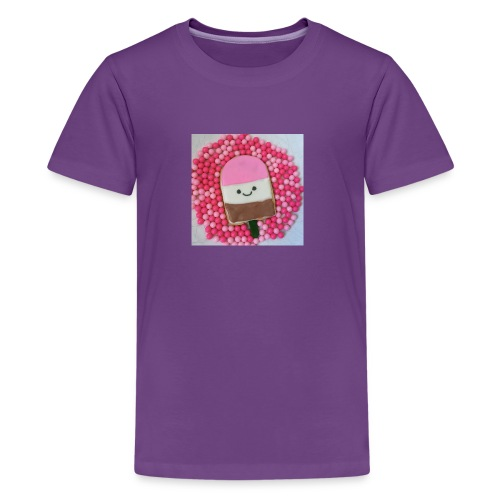 Kawaii ice cream cookies - Kids' Premium T-Shirt