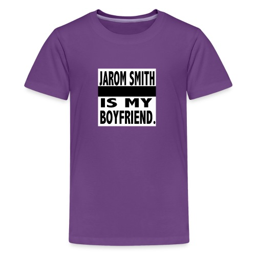 Jarom IS MY BOYFRIEND WORDS - Kids' Premium T-Shirt