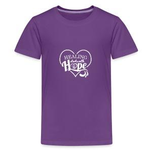 Healing with Hope - Kids' Premium T-Shirt