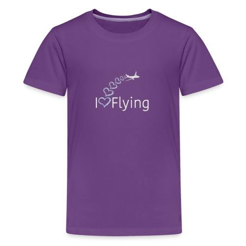 I love Flying - Kids' Premium T-Shirt