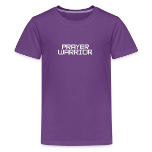 prayer warrior - Kids' Premium T-Shirt