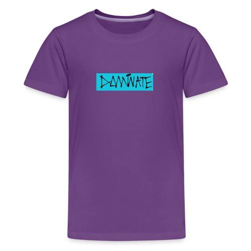 Dominate box logo - Kids' Premium T-Shirt