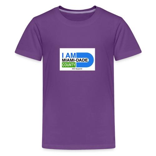 I Am Miami_Dade - Kids' Premium T-Shirt