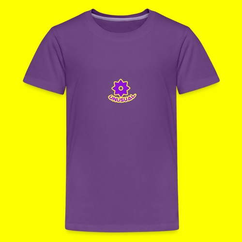 Ususual flower logo - Kids' Premium T-Shirt