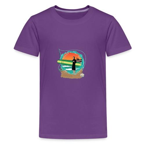 #foreverYoung White Tee - Kids' Premium T-Shirt