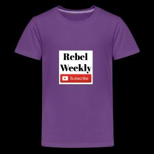 Rebel Weekly - Kids' Premium T-Shirt