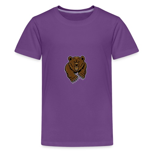 Grizzly Vlogs - Kids' Premium T-Shirt
