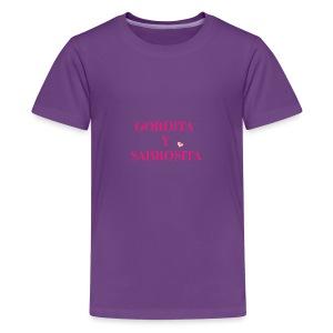 GORDITA Y SABROSITA - Kids' Premium T-Shirt