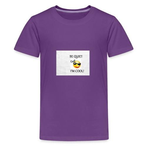 small be quiet - Kids' Premium T-Shirt