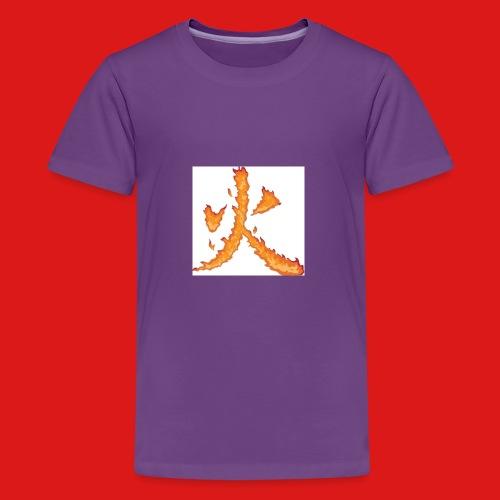 Fire till da end come and get it - Kids' Premium T-Shirt