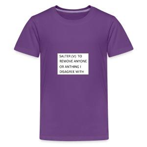 The Salter - Kids' Premium T-Shirt