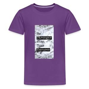 positive reminder - Kids' Premium T-Shirt