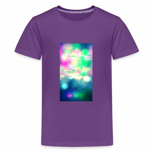Glitchy Photography - Kids' Premium T-Shirt