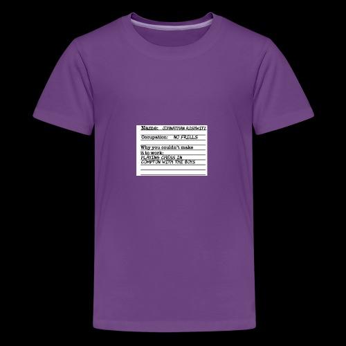Jonathan Roshwitz Occupation - Kids' Premium T-Shirt