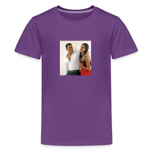Salman khan and katrina kaif beat photo t-shirt - Kids' Premium T-Shirt