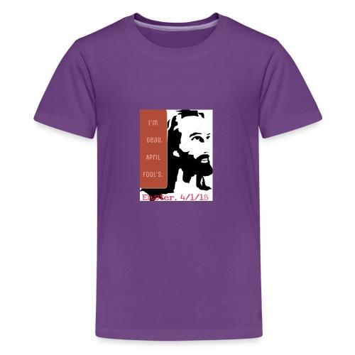 Easter, April Fool's, 4/1/18 - Kids' Premium T-Shirt