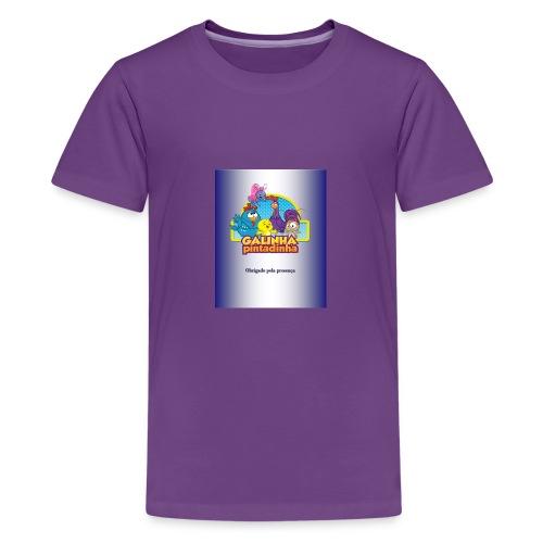 Publicac a o1 pubgalinha pitatinha 2 - Kids' Premium T-Shirt