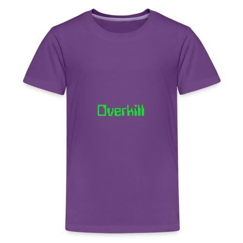Overkill Line 4 - Kids' Premium T-Shirt