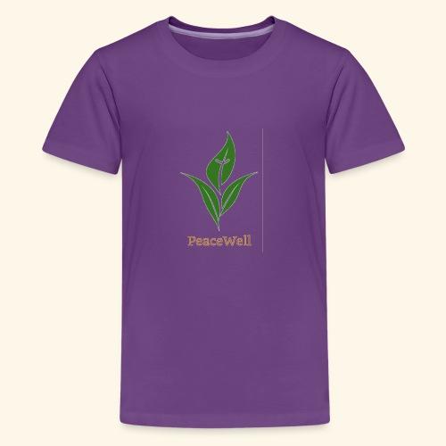 PeaceWell - Support your vendor! - Kids' Premium T-Shirt
