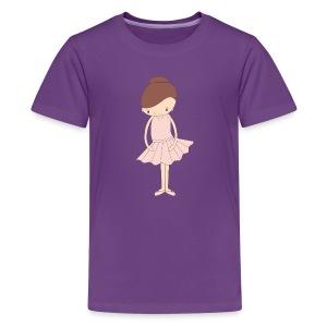 Isabella Ballerina - Kids' Premium T-Shirt