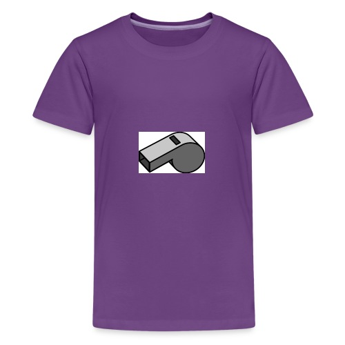 shut up whistle! - Kids' Premium T-Shirt