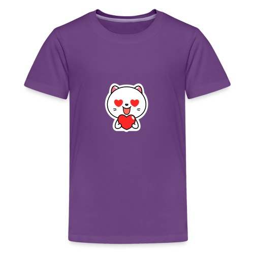 mayo the viber cat 2 by em120xd7ic33y - Kids' Premium T-Shirt