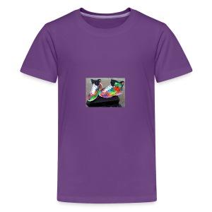 air jordan 6 galaxy customs i really like them - Kids' Premium T-Shirt