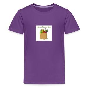 Funny Bunny Bob - Kids' Premium T-Shirt
