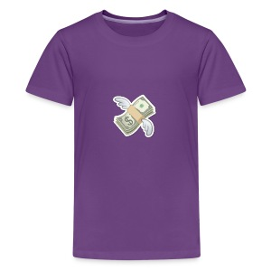 Money With Wings - Kids' Premium T-Shirt