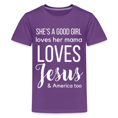 She's a good girl - Kids' Premium T-Shirt