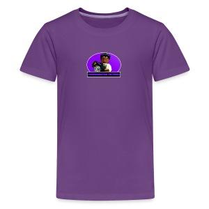 Parkermation Pictures Sigfig/Logo v2 - Kids' Premium T-Shirt
