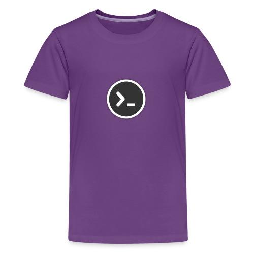 utilities-terminal-icon - Kids' Premium T-Shirt