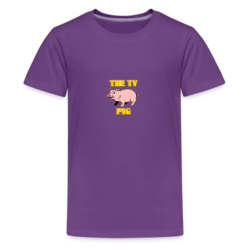Official TV Pig Merchandise - Kids' Premium T-Shirt