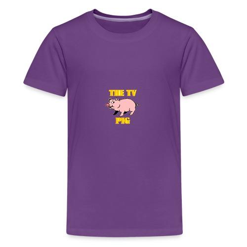 Official TV Pig Merchandise - Kids' Premium T-Shirt