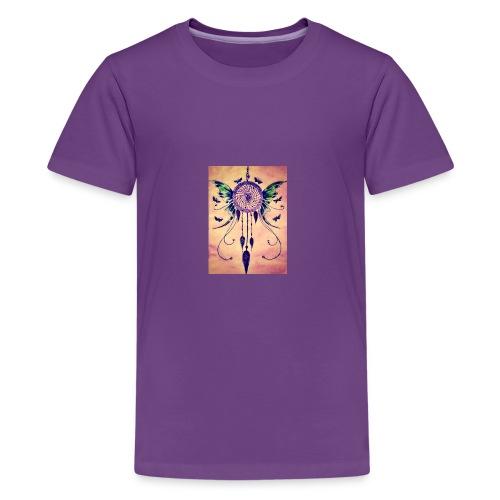 Purple dreamcatcher - Kids' Premium T-Shirt