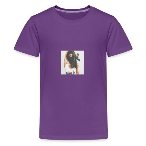 Deadly Woman LOGO - Kids' Premium T-Shirt