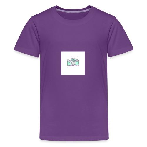 vlogger's jumper - Kids' Premium T-Shirt