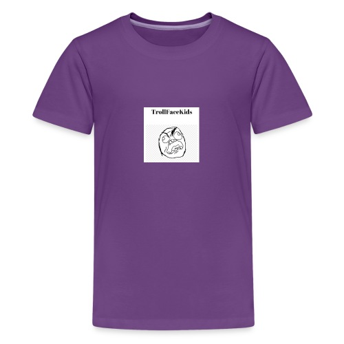 TrollFaceKids Logo 5 - Kids' Premium T-Shirt