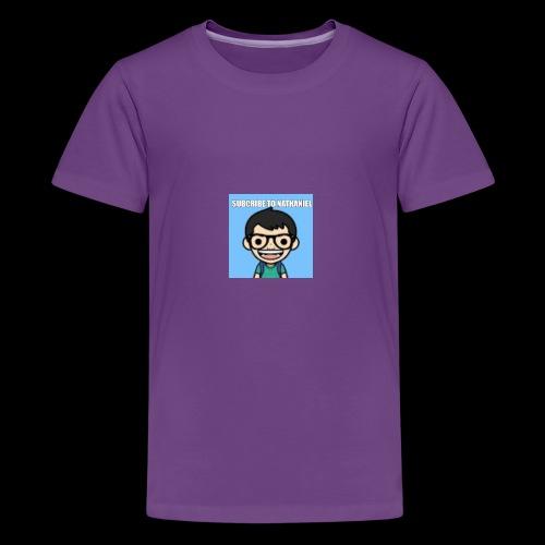Nathaniel Madrigal - Kids' Premium T-Shirt