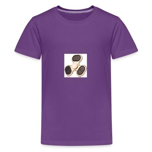 Robiear Clover Fidget Spinner - Kids' Premium T-Shirt