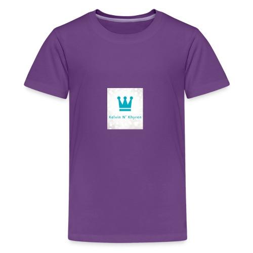 Back Ground Sparks on Blue Classic - Kids' Premium T-Shirt