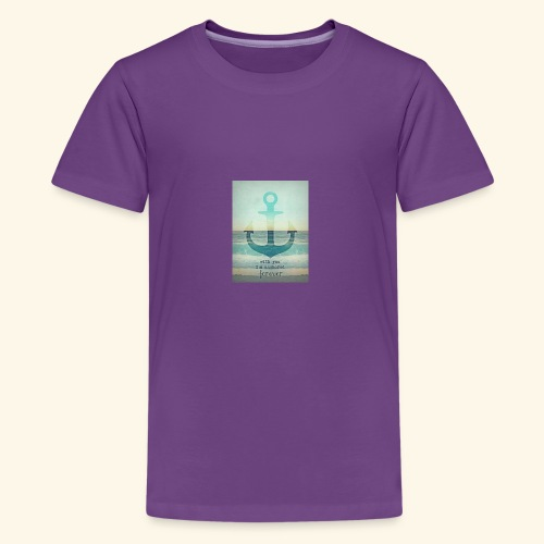 God is my anchor - Kids' Premium T-Shirt