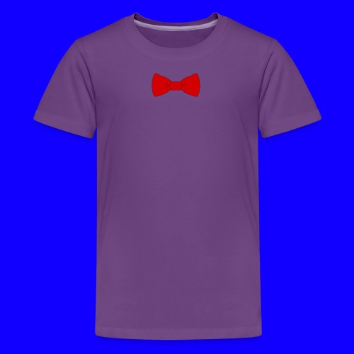 red bow tie - Kids' Premium T-Shirt